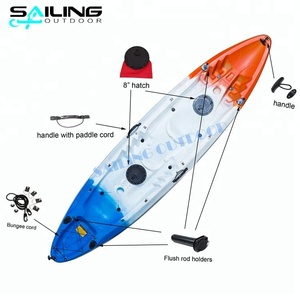 0.9 pvc not inflatable fishing kayak 390 for sale ocean malaysia