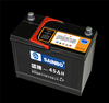 Dry Charged atlas car battery/Korea battery Starting Battery with 12 months warranty