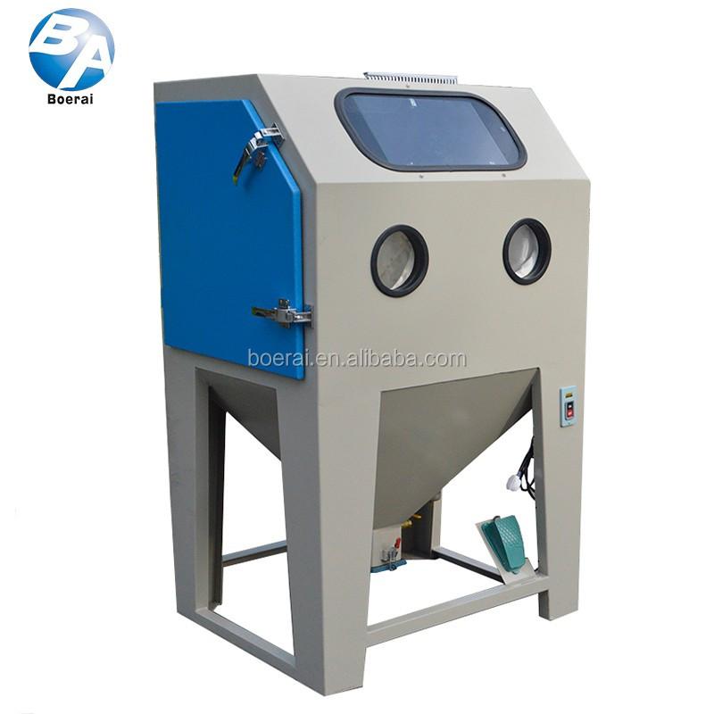 Cleaning equipment sandblaster cabinet sand blasting machine