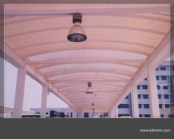Car Parking Shed Tensile Fabric Structure