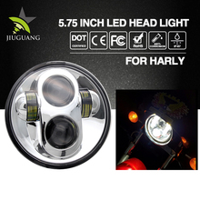 Best Selling Waterproof Auto Led Light 40w 20w 5.75inch High Low Beam Motorcycle Forklift Headlights