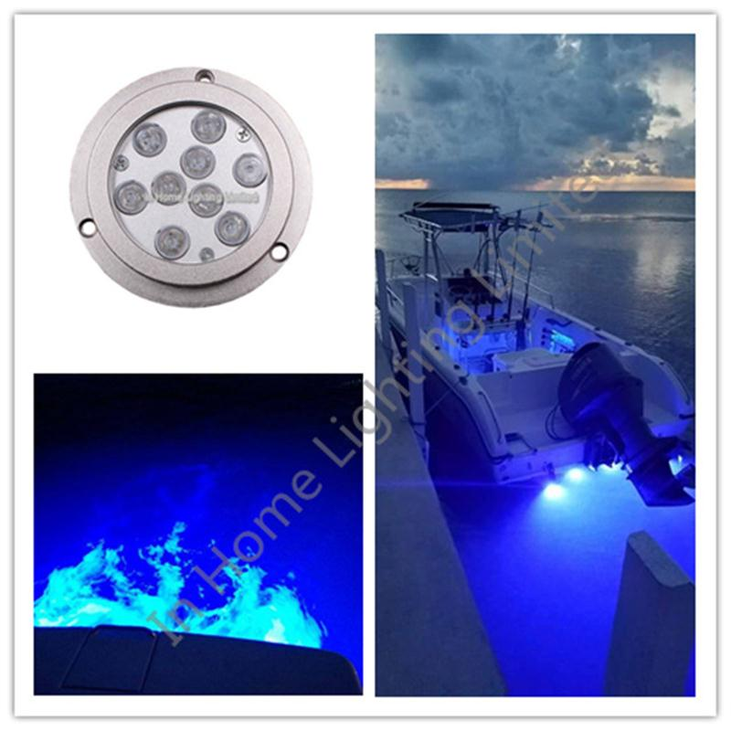 316SS material 27w IP68 RGB led marine light