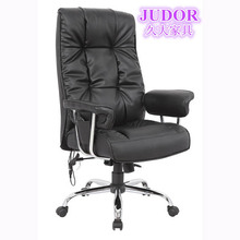 Perfect Blcak PU Leather High back recliner & massage chair