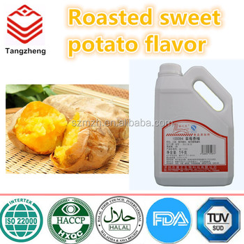 Roasted sweet potato flavor