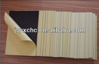 0.6 mm solid self-adhesive paper top pvc board for album