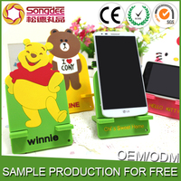 Environmentally Friendly Silicone Phone Holder Large Cartoon Creative phone holder