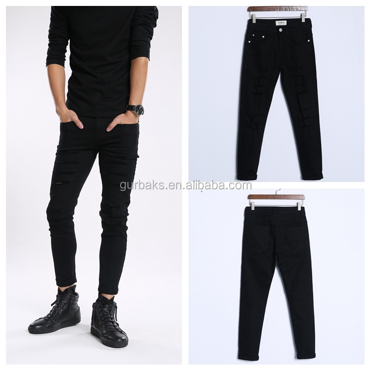 Casual Low Price New Pattern Jeans Pants