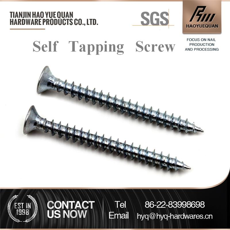 New design din 7981 torx pan washer head self tapping screws black anodized pan head self tapping screw with great price