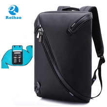 Roihao wholesale laptop backpack cheap cool backpacks for boys teens