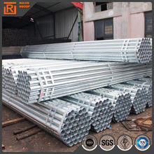 Pre galvanized ms steel round tube, gi steel pipes weight, carbon welded tubes