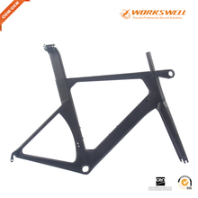 2017 Aero Chinese/China Bicycle Carbon Road Bike Frame with OEM Accept