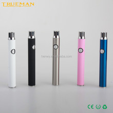 350mah mini Evod e cigarette/ preheat CBD vape battery best quality