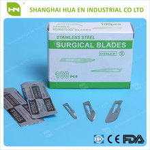 sterile stainless steel surgical blades CE ISO FDA made in China