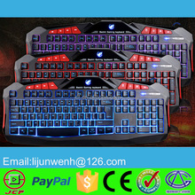 2015 new hot sales keyboard gaming