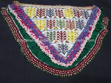 speical Afghan Tribal Kuchi Dress Beaded Shoulder