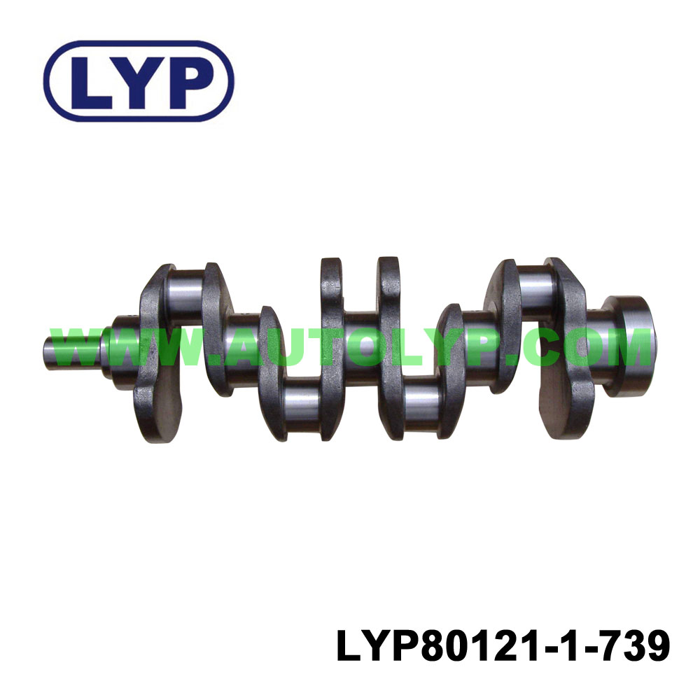 Crankshaft for engine parts for ISUZU 4JH1