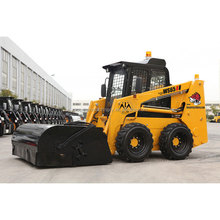 Skid Steer, China Skid Loader, Mini Wheel Skid Steer Loader WS65, 65hp