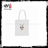 Good quality fashion printing 5oz cotton canvas tote bag with cheap price