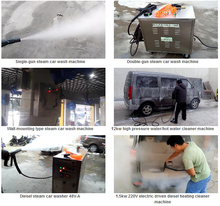 LPG car wash equipment china/cold water car wash equipment india