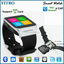 Portable Sync SIM Anti Lost true waterproof watch phone oem for VIVO X6