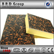sound absorbing rock wool sandwich insulation wall panels