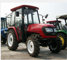 farm tractor DQ554G 55hp 4WD tractor air conditioner cabin with front loader, tractor price list