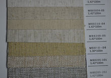 Linen paper making fabric for book binding