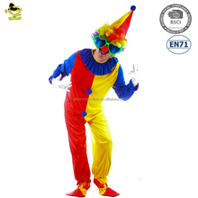 halloween adult funny clown party costumes men
