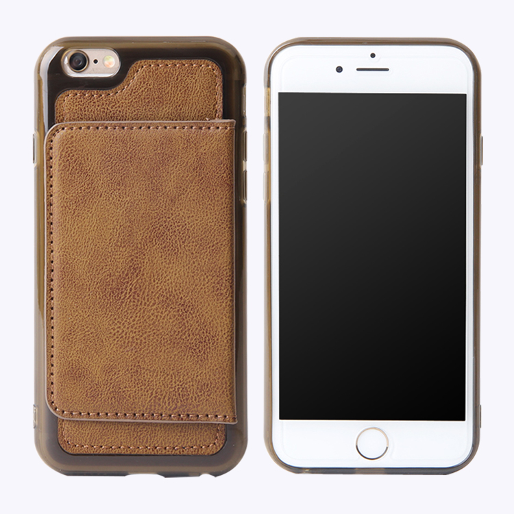 2016 Trending Products PU Leather Mobile Phone Shell Case for iPhone 6 Plus