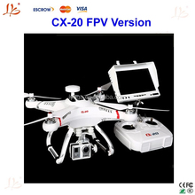 Drone Cheerson CX20 2.4GHz Remote Control RC 4-Axis Control Quadcopter AUTO-Pathfinder Aircraft FPV RTF& GPS big fly shark