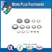 Taiwan Stainless Steel 18-8 Copper Brass Aluminum Brass Fastener Serrated Tooth Washer External Teeth Serrated Lock Washer Led