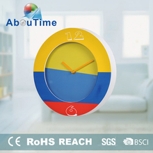 6 Inch high quality national-flag style wall clock for the football fans