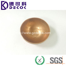 Small 80mm copper hemisphere ball