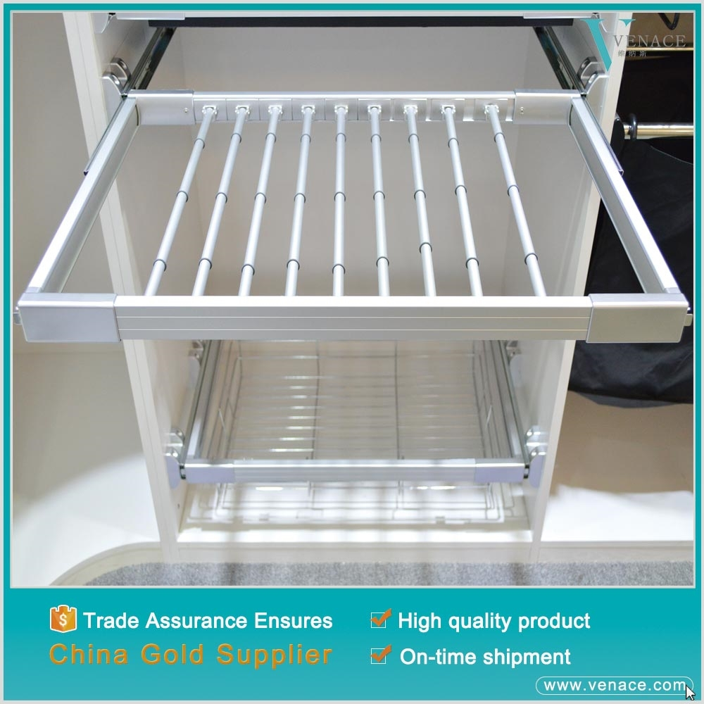 Wholesale bangkok clothes sliding trouser rack