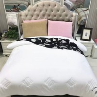 Competitive Price Personalized Beginner Free Block Patterns Wholesale White Quilt