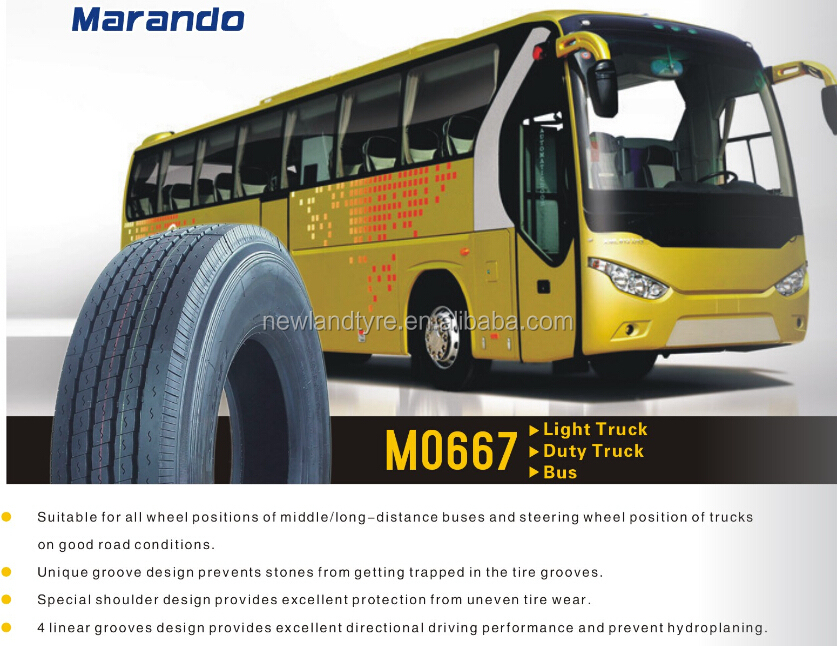 MARANDO SUPERHAWK TRUCK TIRE MANUFACTURE 255/70R22.5 Radial Truck Tyres