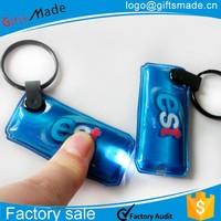 3d souvenir new york pvc keychain,custom acrylic led silicon keychain