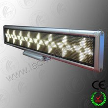 Sample of advertisement product car led sign board