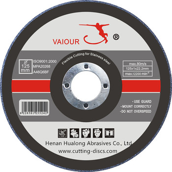 5inch cutting disc cut off wheel for cutting stainless steel and metal