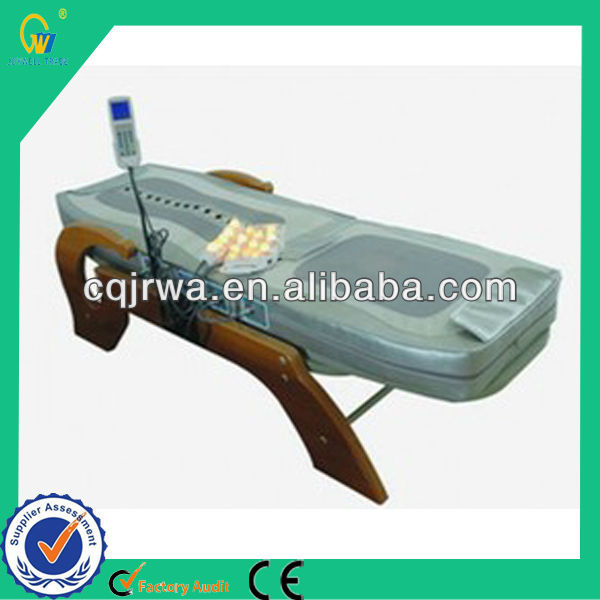 Auto Thermal Folding Infrared Electric Adjustable Warm Jade Stone Choyang Massage Bed Price