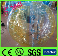 2014 hot sell inflatable bumper ball/human inflatable bumper bubble ball/buddy bumper ball for adult