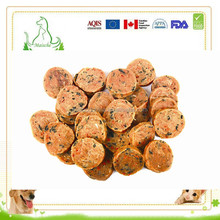 delicious Chicken seaweed chips dry pet snack dry food for dogs