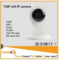Wholesale 1 megapixels H.264 video push P2P indoor wifi camera with IR cut