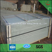 green garden metal fence panels factory in anping