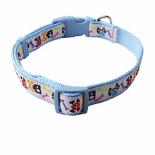 HOT SALE Custom Weave Pet Dog Collars For Small Dogs And Cats