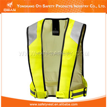 High visibility sports wear sports safety vest sports equipment