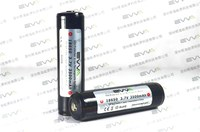 10A High Drain---Lithium ion Rechargeable EVVA 3.7V 18650 3500mAh Protected Battery with Protection Circuitry PCB