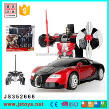Hot selling rc transform car transform robot toy for kids