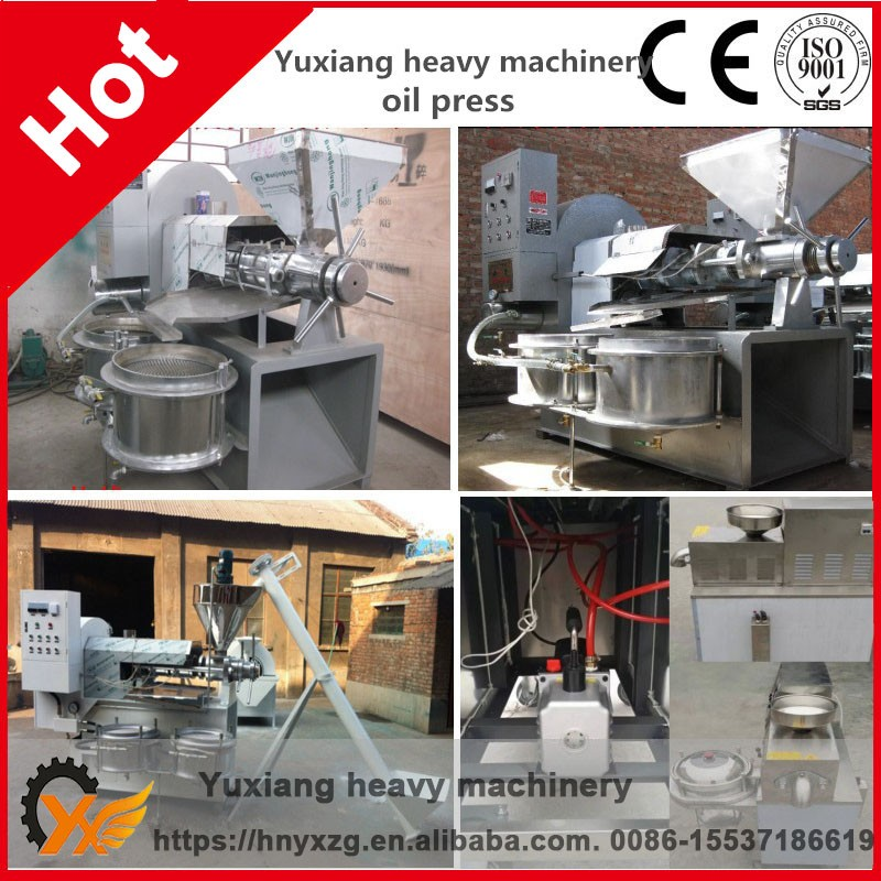 Good acid alkali resistant sesame seeds palm oil mill screw press