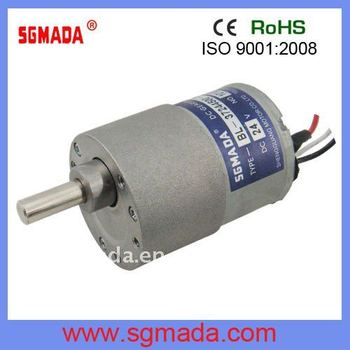 High torque low rpm 37mm dc brushless gear motor buy for 100000 rpm electric motor